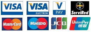 metodos de pagos aceptados